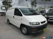 2005 Mitsubishi Express SJ M05 White Manual 5sp M Van for Sale