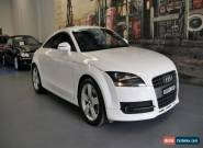 2010 Audi TT 8J MY10 White Manual 6sp M Coupe for Sale