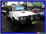 2000 Toyota Hilux LN167R (4x4) White Manual 5sp M Cab Chassis for Sale