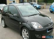 Ford Fiesta 1.4 Zetec Black 3 dr for Sale