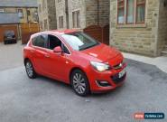 VAUXUALL ASTRA ELITE RED 2013 62 REG 1.6 PETROL 5 DR AUTOMATIC DAMAGED REPAIRED  for Sale