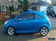 2011(61) VAUXHALL CORSA VXR 1.6 TURBO (BLUE) for Sale