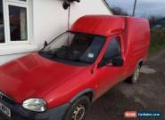 1998 VAUXHALL COMBO MERIT 1.7D RED for Sale