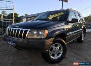 2001 Jeep Grand Cherokee WG Laredo (4x4) Blue Automatic 4sp A Wagon for Sale