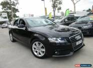 2009 Audi A4 B8 8K Black Automatic A Sedan for Sale