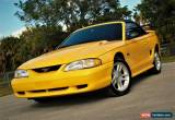 Classic 1998 Ford Mustang GT Convertible 2-Door for Sale