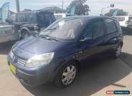 2005 Renault Scenic Dynamique Blue Manual 5sp M Wagon for Sale