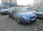1999 FORD FOCUS ZETEC BLUE SPARES OR REPAIRS for Sale