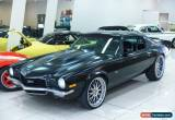 Classic 1972 Chevrolet Camaro Matte Black Automatic A Coupe for Sale