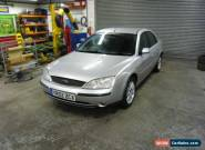ford mondeo mk3 spares or repair 2002 tdi for Sale