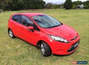 2009 WS FORD FIESTA LX for Sale