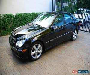 Classic 2006 Mercedes-Benz C-Class Sport Sedan 4-Door for Sale