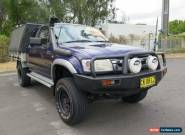 2003 Toyota Hilux RZN147R MY02 Workmate Blue Manual 5sp M 2D CAB CHASSIS for Sale