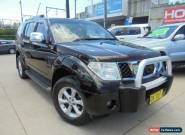 2008 Nissan Pathfinder R51 MY08 TI Black Automatic 5sp A Wagon for Sale