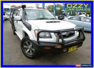2008 Holden Colorado RC LX (4x4) White Manual 5sp M Crewcab for Sale