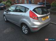 2009 (59) FORD FIESTA ZETEC DIESEL MANUAL 1.4L TDCI SILVER  FULL SERVICE HISTORY for Sale