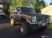 1987 Chevrolet Blazer Silverado Sport Utility 2-Door for Sale