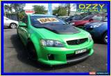 Classic 2008 Holden Commodore VE MY08 SV6 Green Automatic 5sp A Sedan for Sale