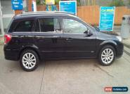 Vauxhall Astra Design auto Estate black 1.8 for Sale