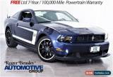 Classic 2012 Ford Mustang Boss 302 Coupe 2-Door for Sale