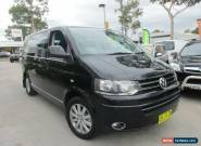 2010 Volkswagen Multivan T5 MY10 Highline Black 7 SPORTS AUTOMATIC DUAL CLUTCH for Sale