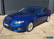 2013 Ford Falcon FG MK2 XR6T Blue Automatic 6sp A Sedan for Sale