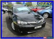 2010 Subaru Impreza MY10 R (AWD) Black Manual 5sp M Hatchback for Sale