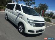 2002 Nissan Elgrand E51 White Automatic 5sp A Wagon for Sale