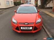 2011 ford focus 1.6 zetec 74450miles for Sale