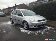 ford fiesta zetec 1.4 spares or repairs mot'd silver for Sale