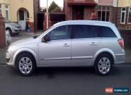 2008 VAUXHALL ASTRA ESTATE DESIGN SILVER 1.6 PETROL for Sale