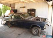 1967 Mustang Hardtop 289ci 2bbl V8 Project Car for Sale