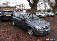2004 VAUXHALL ASTRA CLUB TWINPORT SEMIAUTO GREY NO RESERVE SPARES OR REPAIR for Sale