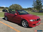 BMW 330Ci Convertible 2003 Auto (Steptronic) for Sale