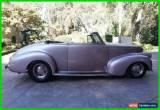 Classic 1940 Chevrolet Other 2 Door Convertible for Sale