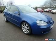 2004 VOLKSWAGEN GOLF GT TDI BLUE for Sale