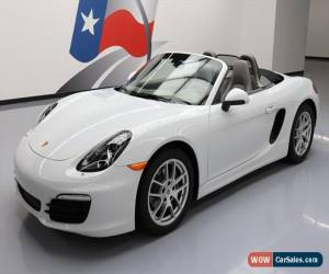 Classic 2015 Porsche Boxster Base Convertible 2-Door for Sale