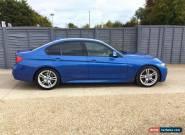 2014 14 BMW 3 SERIES 330D M SPORT AUTO DIESEL for Sale