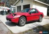Classic 1986 Pontiac Fiero Sport Coupe 2-Door for Sale