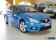 2012 Holden Cruze JH Series II MY12 SRI Blue Manual 6sp M Sedan for Sale