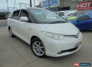 2007 Toyota Tarago GSR50R Ultima White Automatic A Wagon for Sale
