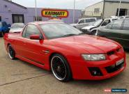 2004 HOLDEN VZ S UTE **6 SP MANUAL**BODY KIT**20'' WHEELS** for Sale