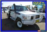 Classic 2008 Toyota Landcruiser VDJ79R Workmate (4x4) White Manual 5sp M Cab Chassis for Sale