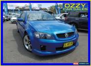 2008 Holden Commodore VE SS-V Blue Manual 6sp M Utility for Sale