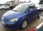 2006 VOLKSWAGEN GOLF PLUS 1.6 SE FSI for Sale