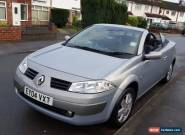 2004 RENAULT MEGANE CONVERTIBLE, AUTOMATIC,VERY LOW MILEAGE,FULL HISTORY,NEW MOT for Sale