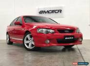 2003 Ford Falcon BA XR6 Red Automatic 4sp A Sedan for Sale