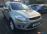 2008 FORD KUGA TITANIUM 4X4 TDCI SILVER 1 OWNER FSH for Sale