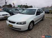 2004 Ford Falcon BA XT White Automatic 4sp A Sedan for Sale