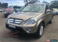2005 Honda CR-V 2005 Upgrade (4x4) Sport Gold Automatic 5sp A Wagon for Sale